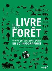 LE LIVRE DE LA FORET - TOUT CE QUE VOUS DEVEZ SAVOIR EN 50 INFOGRAPHIES