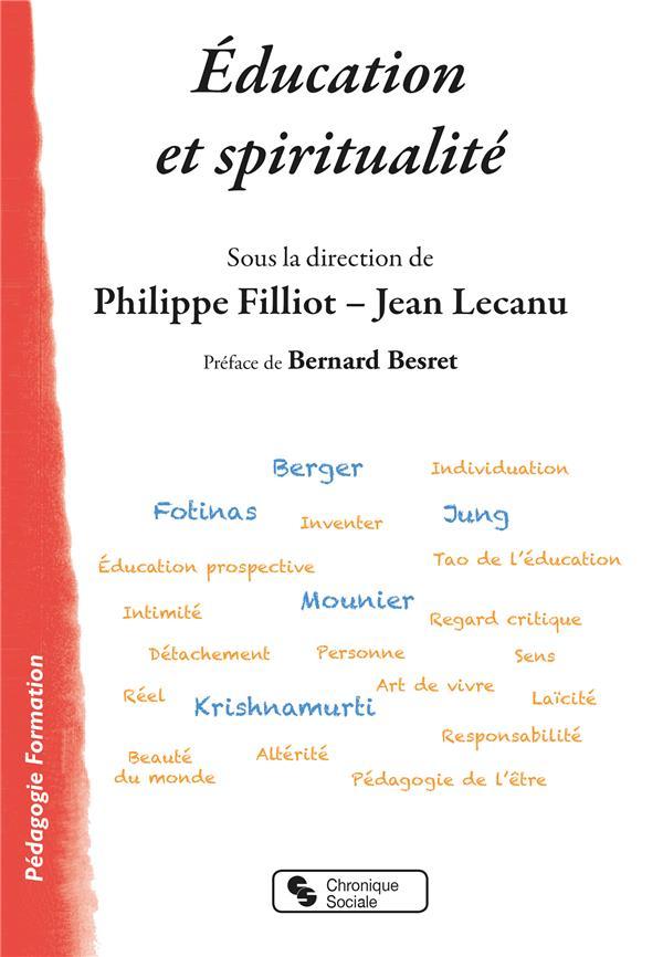 EDUCATION ET SPIRITUALITE