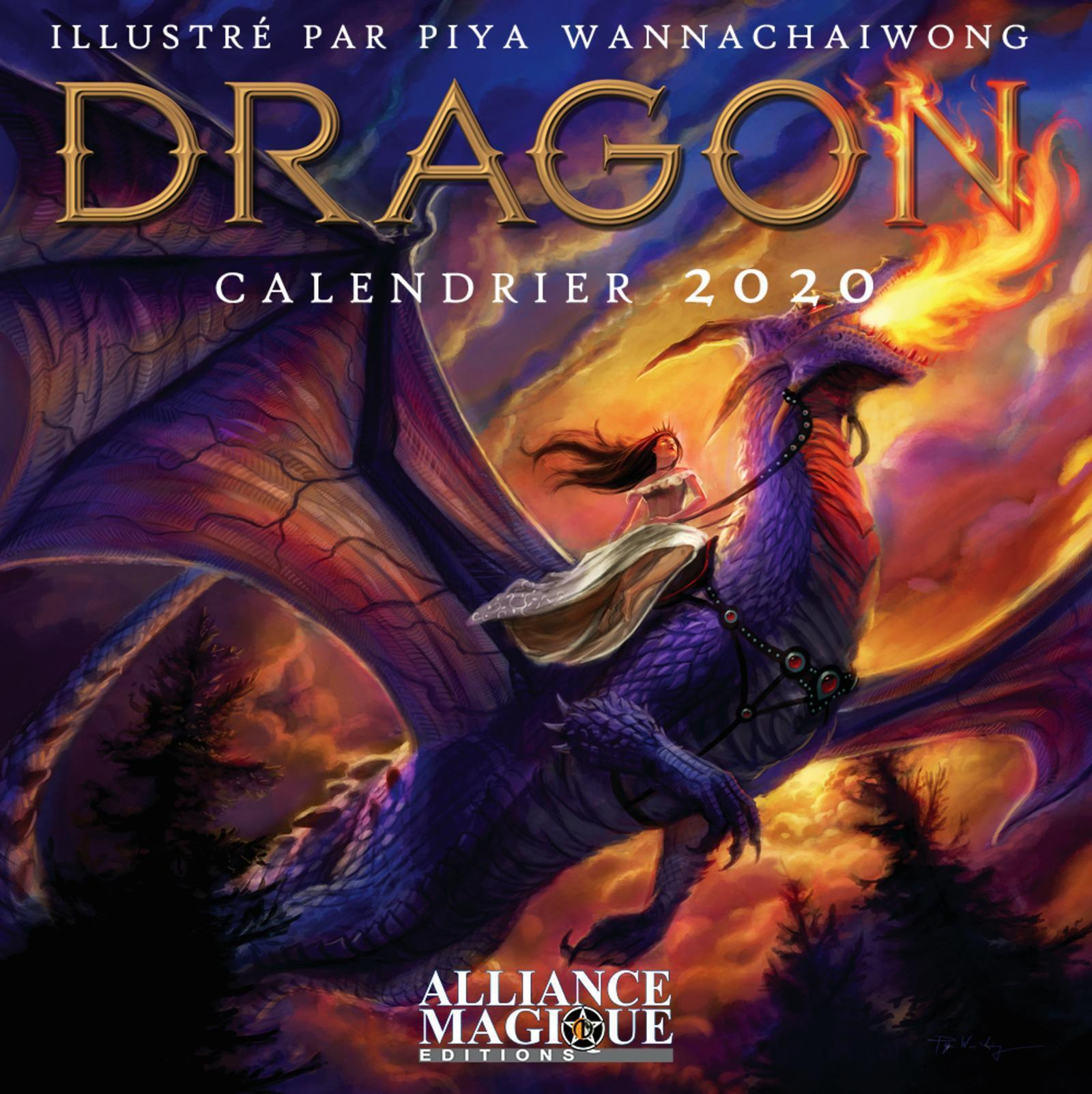 CALENDRIER DES DRAGONS 2020