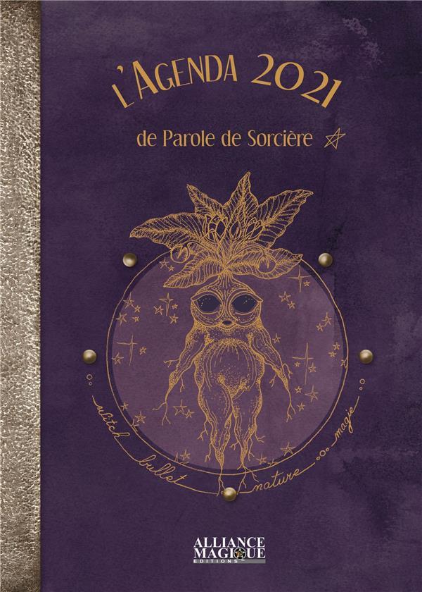 L'AGENDA DE PAROLE DE SORCIERE 2020-2021 - RECETTES, POTIONS ET RITUELS POUR UNE ANNEE MAGIQUE