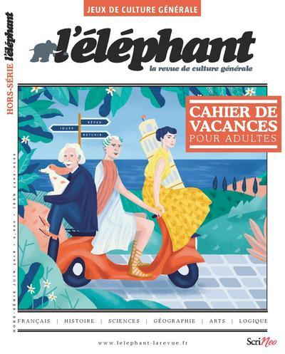 HORS-SERIE JEUX - NUMERO 5 - L'ELEPHANT ETE 2018