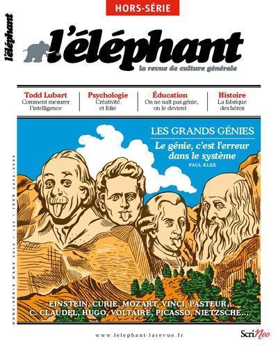 L'ELEPHANT - HORS-SERIE - LES GENIES
