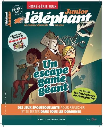 L'ELEPHANT JUNIOR - HORS SERIE JEUX