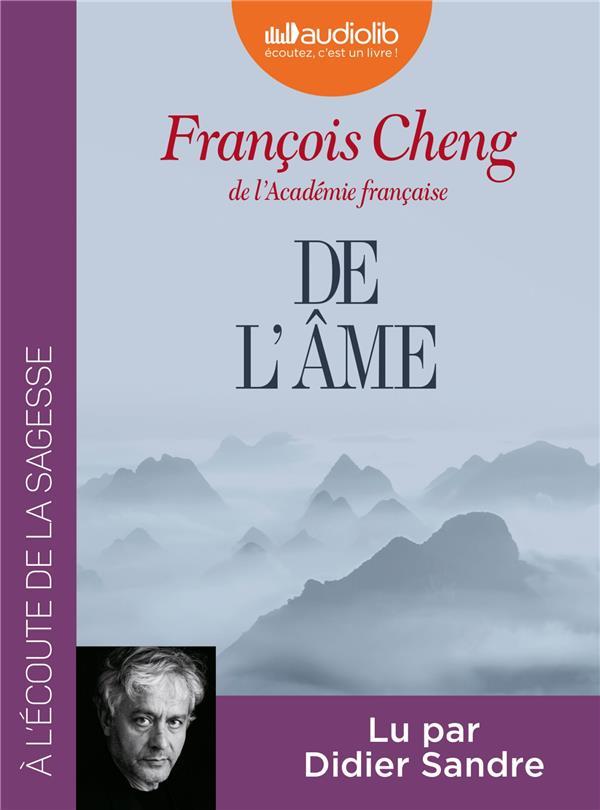 DE L'AME - LIVRE AUDIO 1 CD MP3