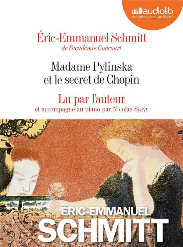 LE CYCLE DE L'INVISIBLE - MADAME PYLINSKA ET LE SECRET DE CHOPIN - LIVRE AUDIO 2 CD AUDIO