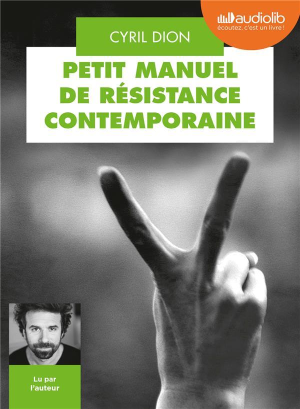 PETIT MANUEL DE RESISTANCE CONTEMPORAINE - LIVRE AUDIO 1 CD MP3