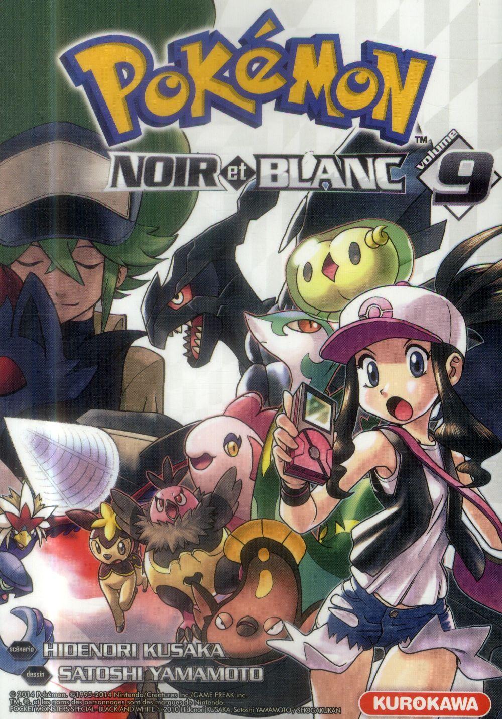 Pokemon noir et blanc - tome 9 - vol09