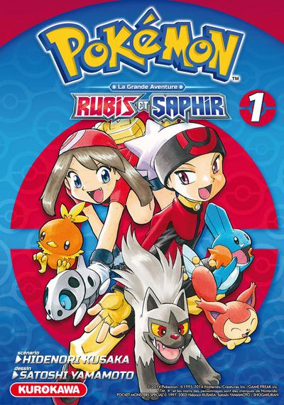 Pokemon rubis et saphir - tome 1 - vol01