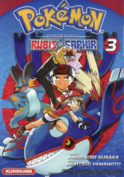 Pokemon rubis et saphir - tome 3 - vol03