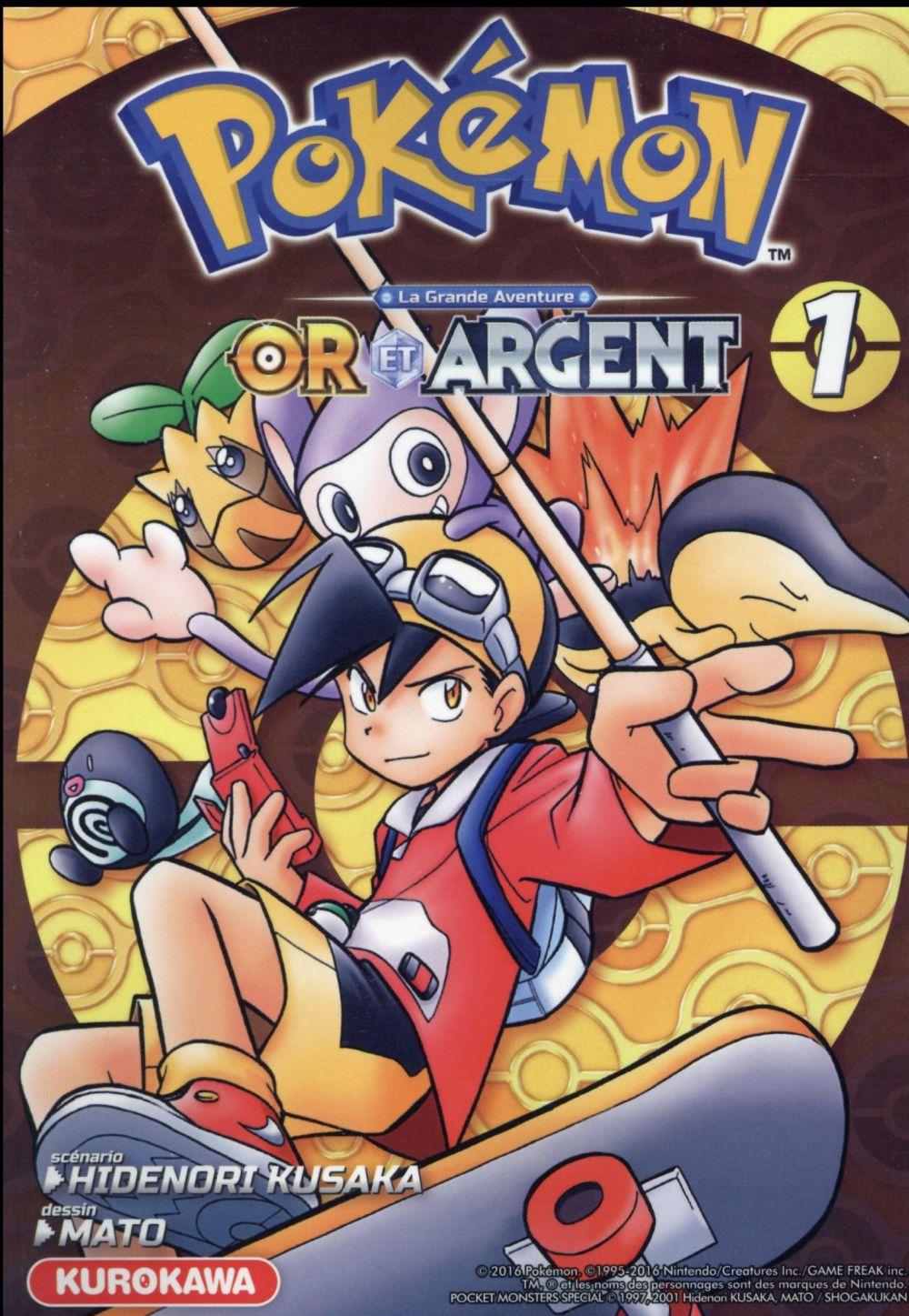 Pokemon or et argent - tome 1 - vol01