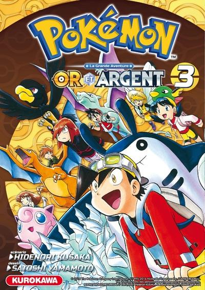 Pokemon or et argent - tome 3 - volume 03