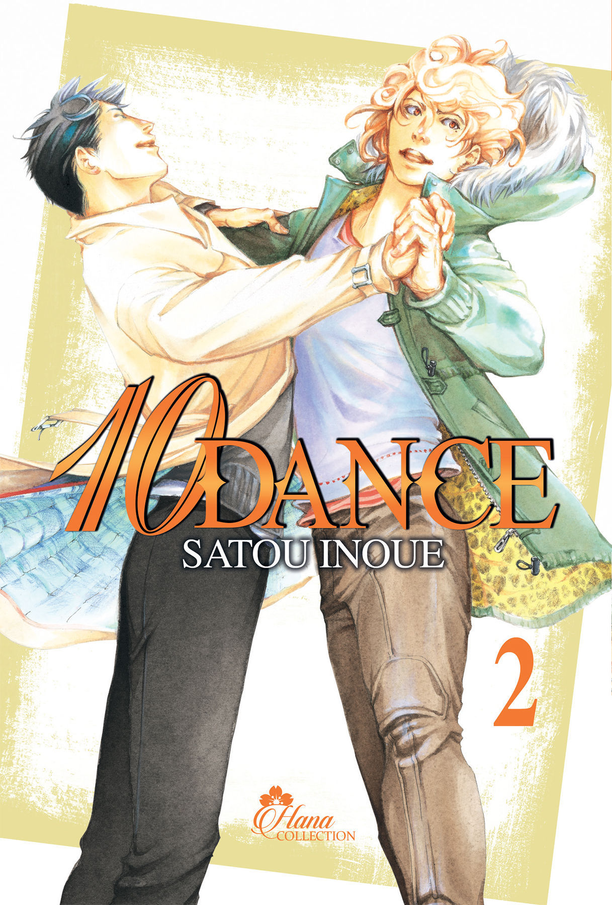10 DANCE - TOME 02 - LIVRE (MANGA) - YAOI - HANA COLLECTION