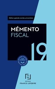 MEMENTO FISCAL ETUDIANT 2019