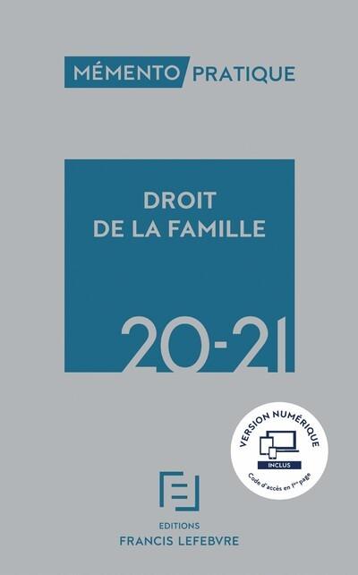 MEMENTO DROIT DE LA FAMILLE 2020-2021