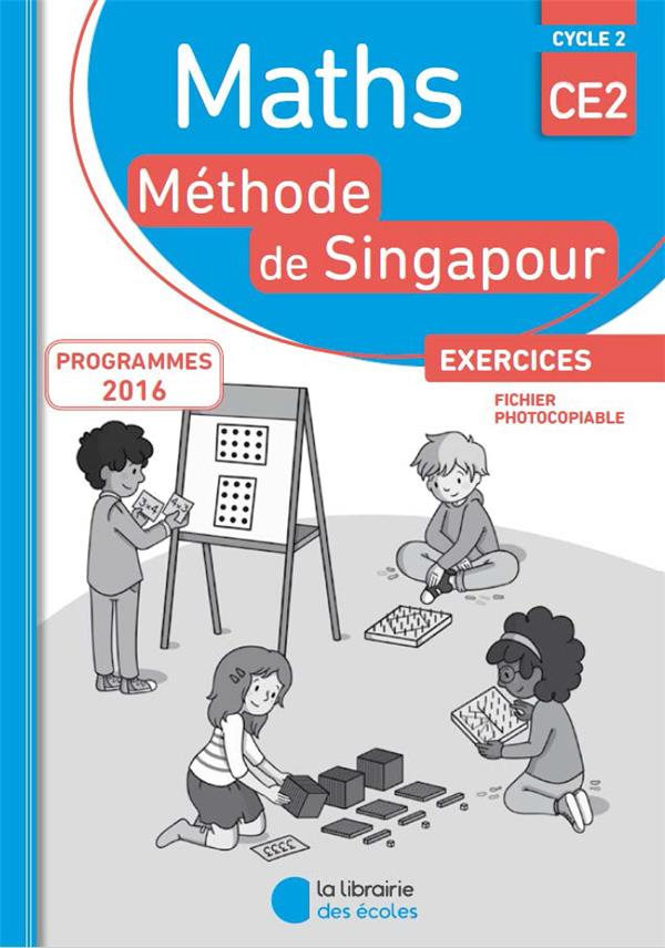 MATHS SINGAPOUR CE2 EXERCICES FICHIER PHOTOCOPIABLE 2018