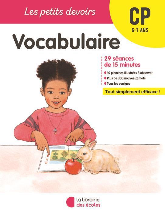 Les petits devoirs - vocabulaire cp