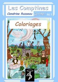 C10- COLORIAGES LES COMPTINES, CA RIME!