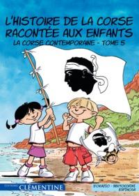 L HISTOIRE DE LA CORSE RACONTEE AUX ENFANTS T5