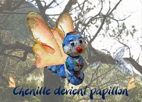 CHENILLE DEVIENT PAPILLON