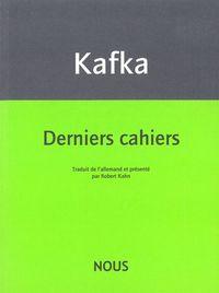 DERNIERS CAHIERS - 1922-1924