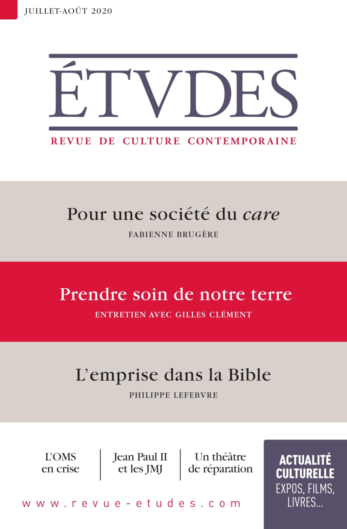 ETUDES 4273 - JUILLET