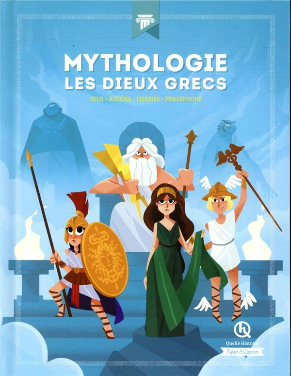 Mythologie les dieux grecs - athena - hermes - persephone - zeus
