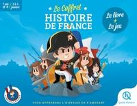 LE COFFRET HISTOIRE DE FRANCE - BEAU LIVRE + TEMPO CHRONO