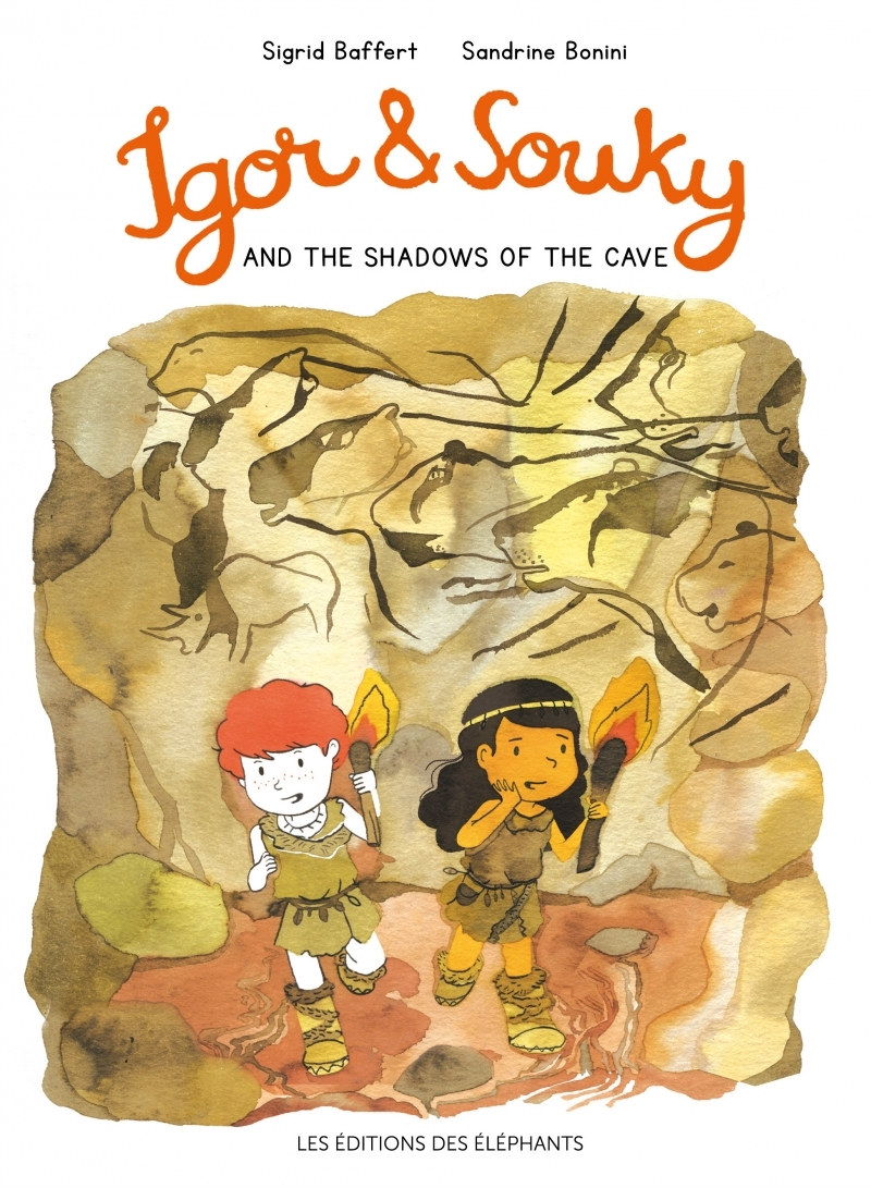 IGOR AND SOUKY AND THE SHADOWS OF THE CAVE (ANGLAIS)