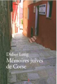 MEMOIRES JUIVES DE CORSE