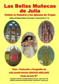COFRE N 16 LAS BELLAS MUNECAS DE JULIA VISITAN LA CATEDRAL Y LAS IGLESIAS DE TROYES