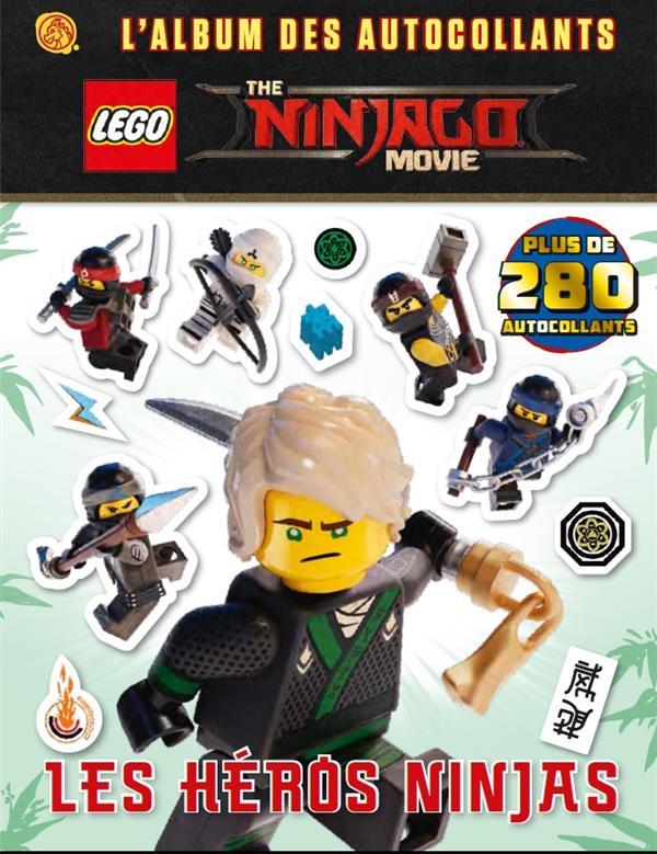 LEGO NINJAGO MOVIE: LES AUTOCOLLANTS DU FILM - T1