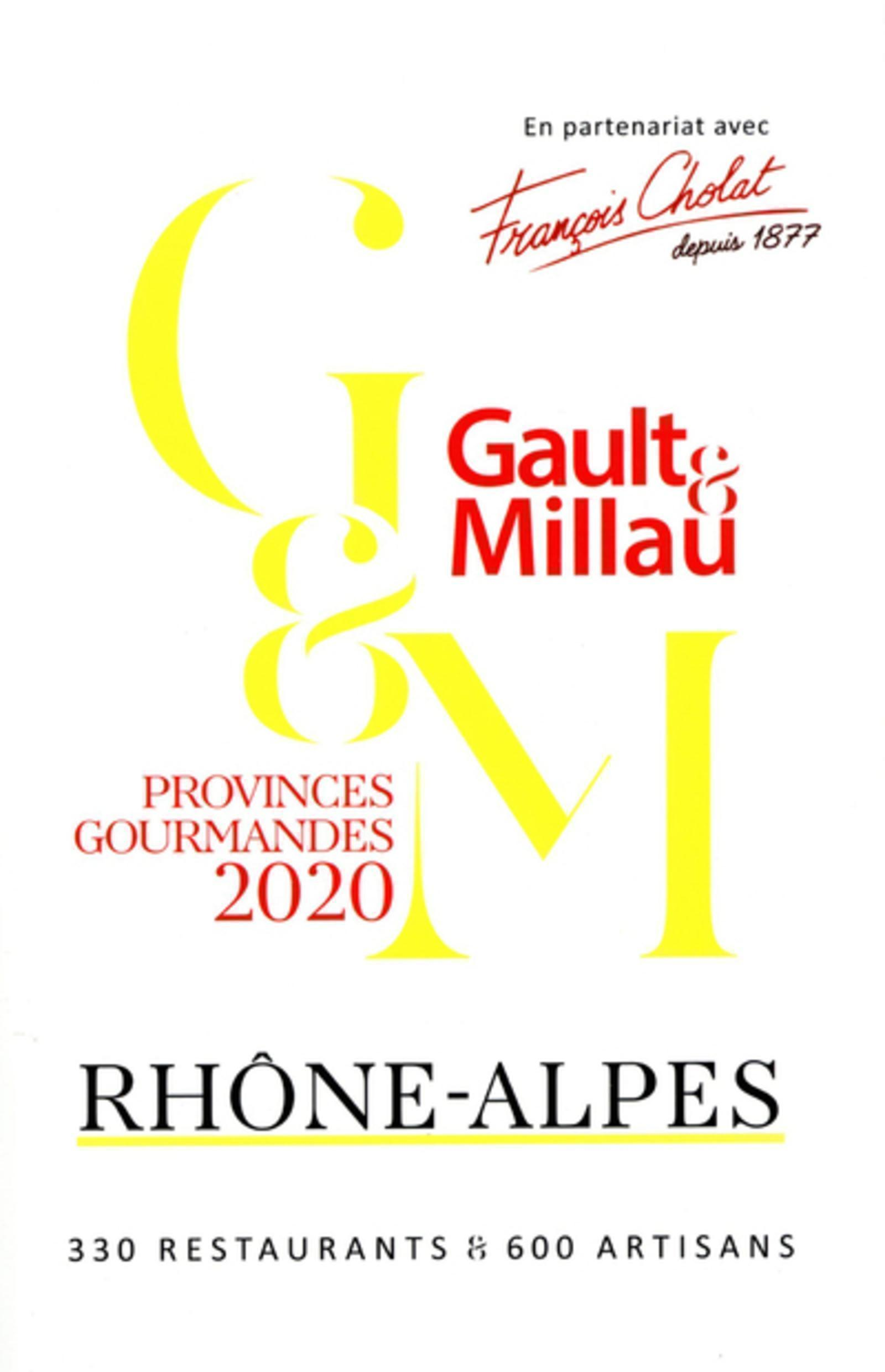 RHONE-ALPES 2020 - PROVINCES GOURMANDES