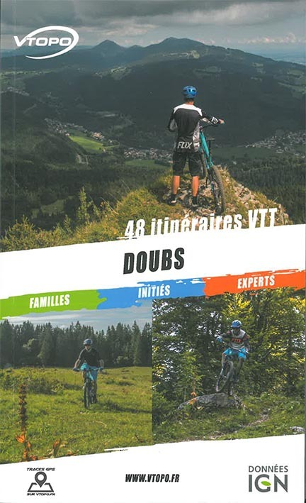 DOUBS 48 ITINERAIRES VTT FAMILLE/INITIES/EXPERTS