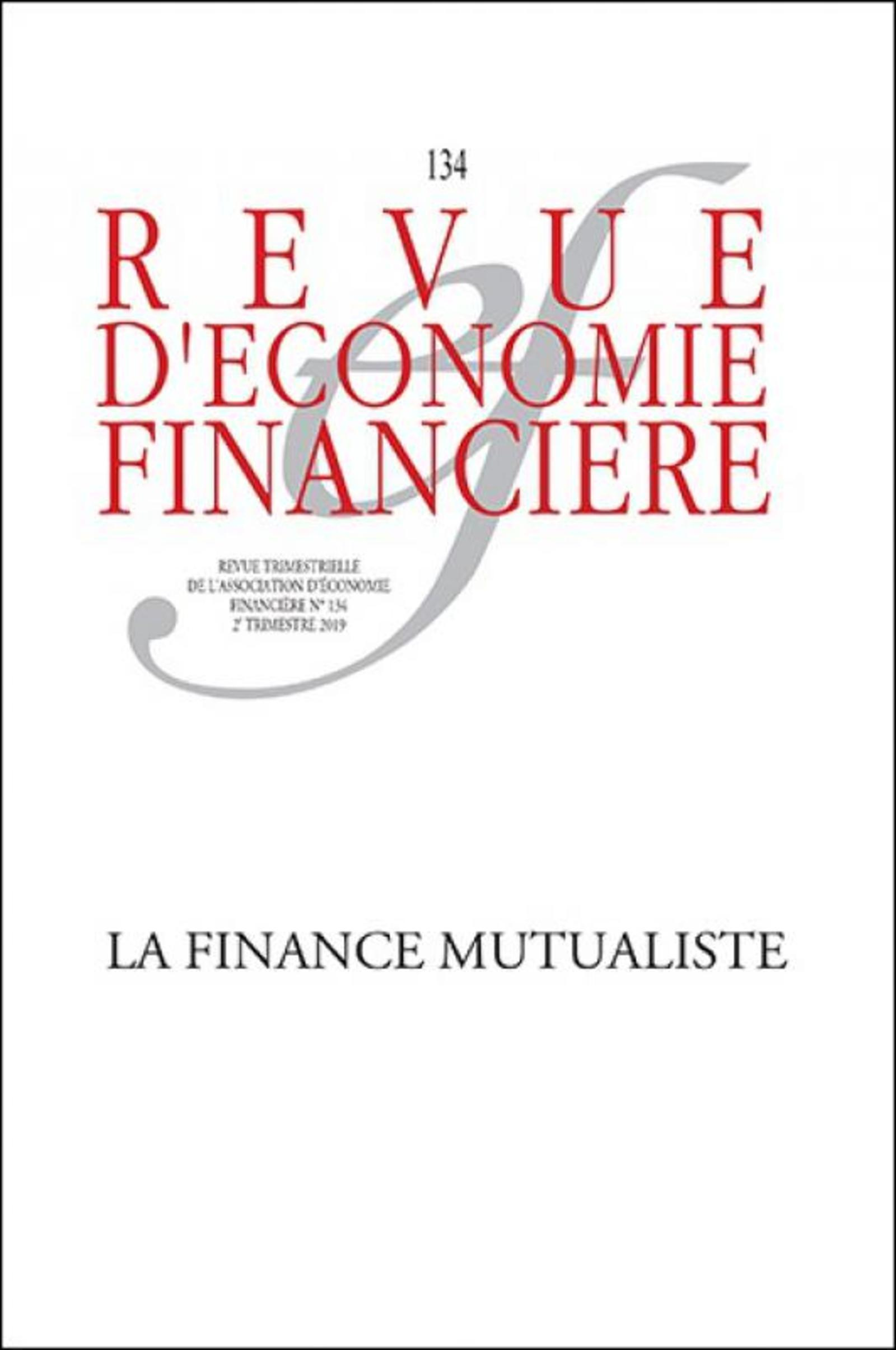 LA FINANCE MUTUALISTE - N134 2E TRIMESTRE 2019