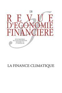 LA FINANCE CLIMATIQUE