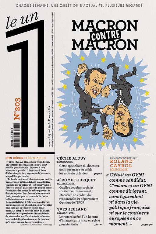 LE 1 NUMERO 203 MACRON CONTRE MACRON