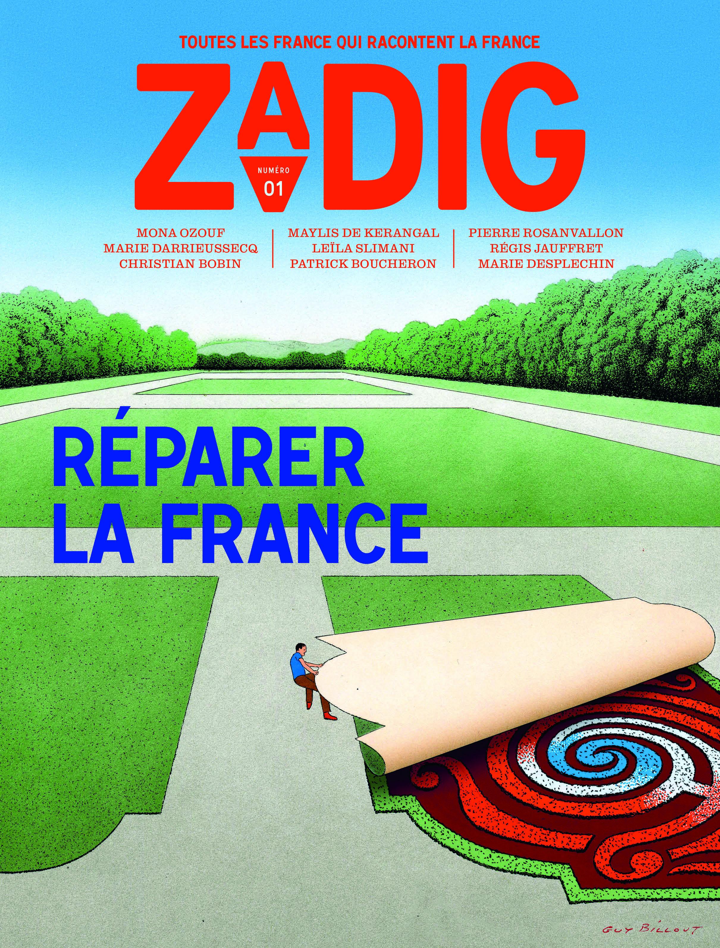ZADIG N1 REPARER LA FRANCE