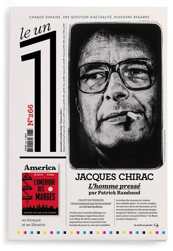 LE 1 NUMERO 266 JACQUES CHIRAC L'HOMME PRESSE