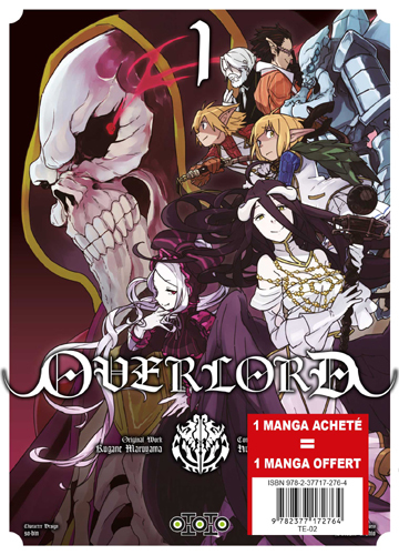 PACK  OVERLORD (1 = 2)