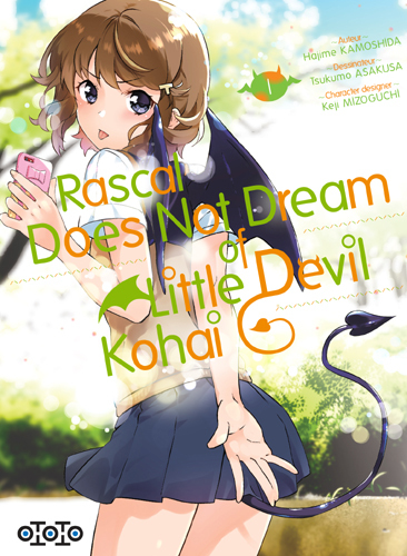 RASCAL DOES NOT DREAM OF LITTLE DEVIL KOHAI T01