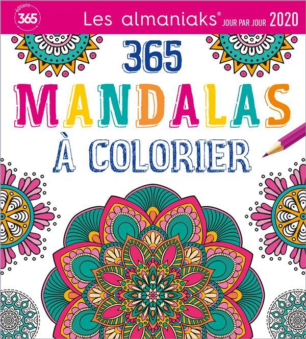 ALMANIAK ACTIVITES MANDALAS A COLORIER 2020