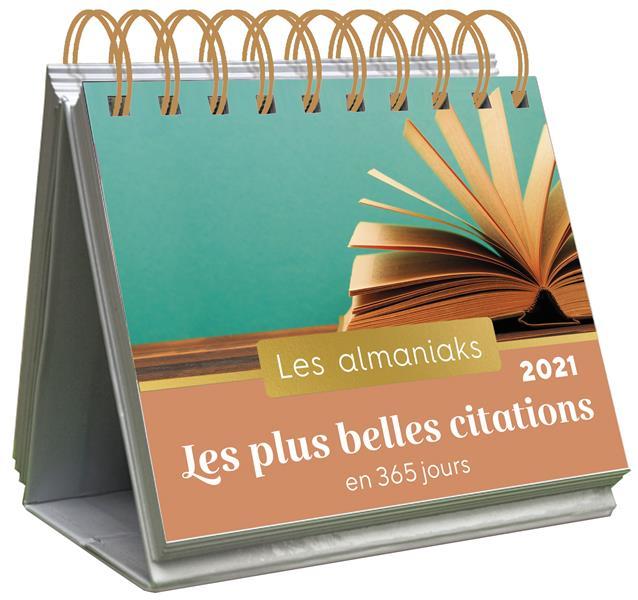 ALMANIAK LES PLUS BELLES CITATIONS EN 365 JOURS 2021