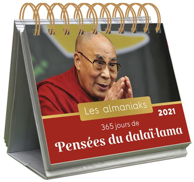 ALMANIAK 365 JOURS DE PENSEES DU DALAI-LAMA 2021