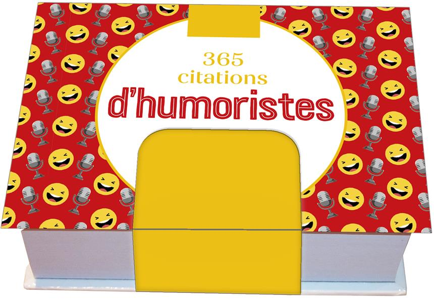 Minimaniak 365 citations d'humoristes