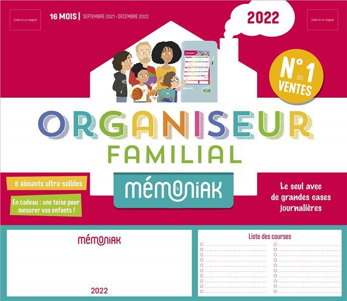 Organiseur familial memoniak 2021-2022