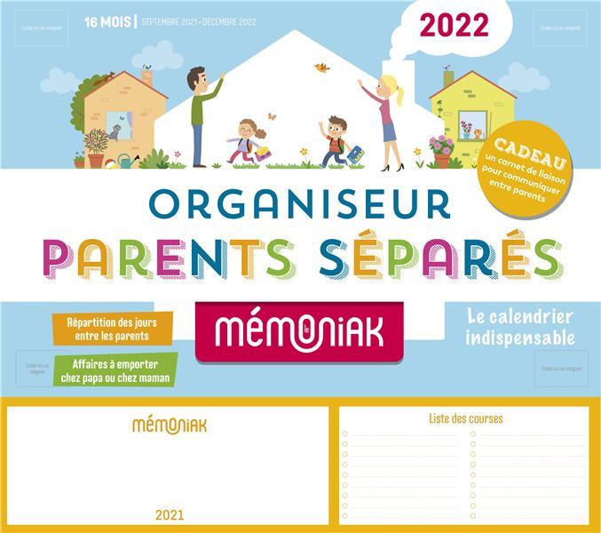 Organiseur parents separes memoniak 2021-2022