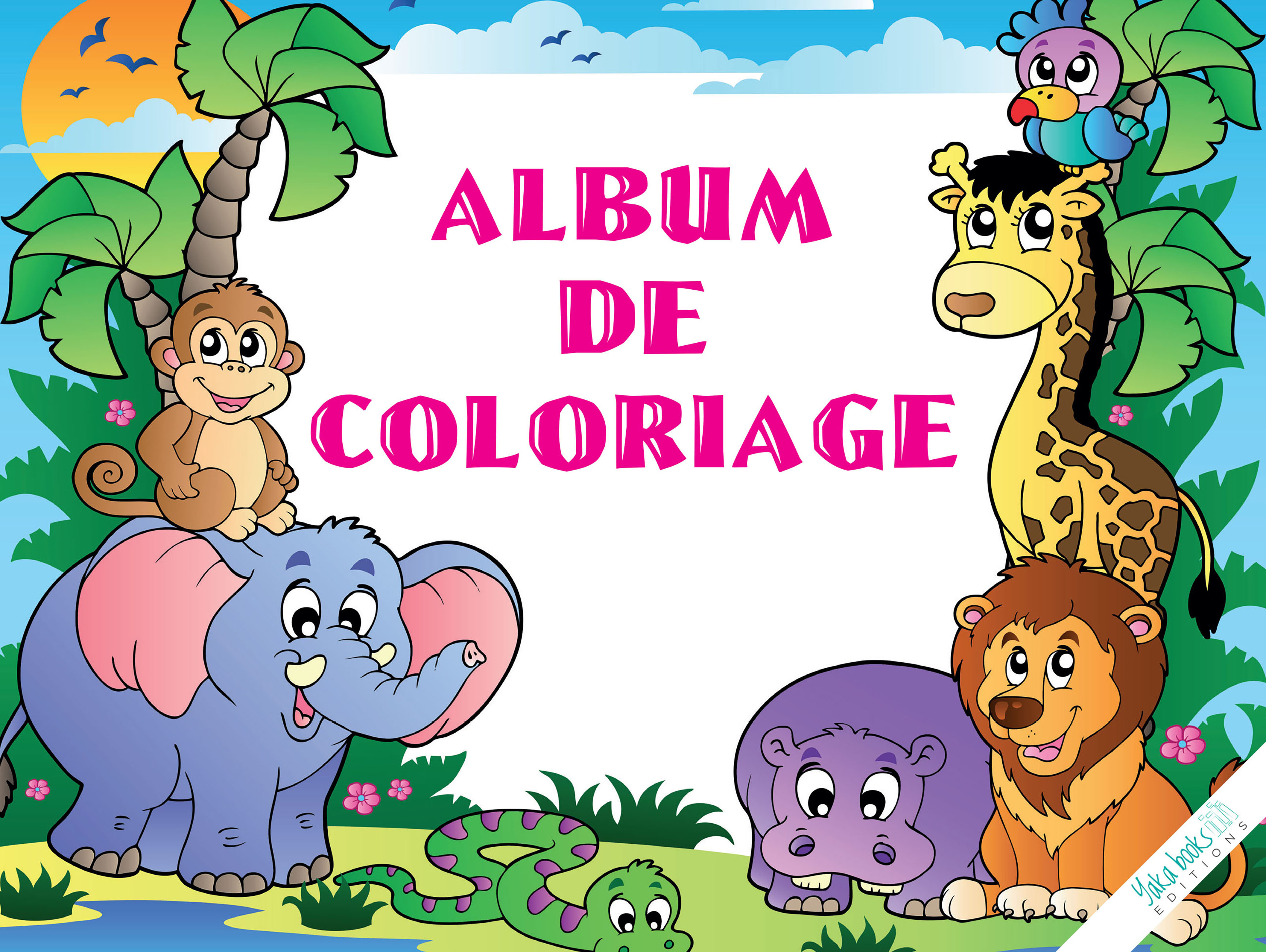 ALBUM DE COLORIAGE