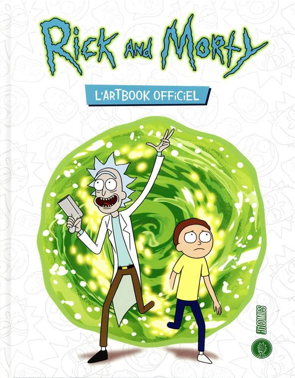 RICK AND MORTY - ARTBOOK OFFICIEL