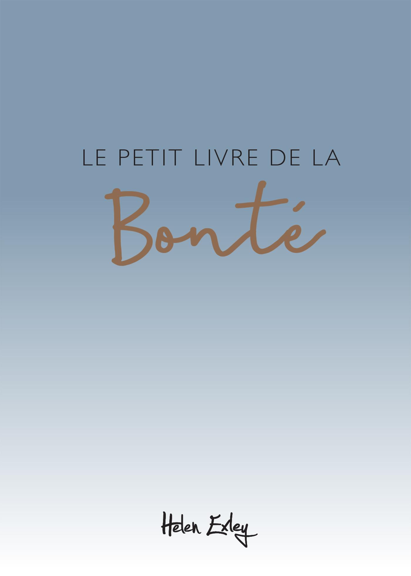 PETIT LIVRE DE LA BONTE