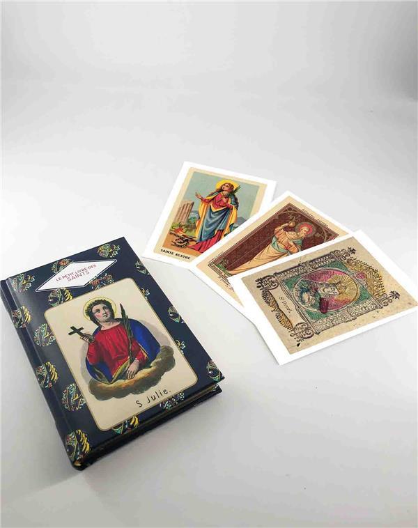 Le petit livre des saints + cartes postales